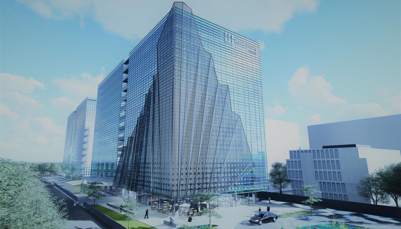 Birouri de mici si mari dimensiuni in Hyperion Towers de la 200 mp