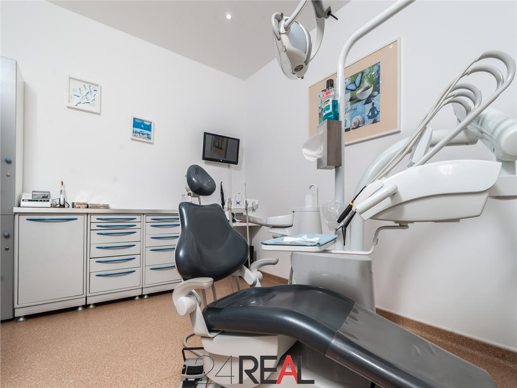 Clinica stomatologica/medicala la cheie de inchiriat - 280 mp
