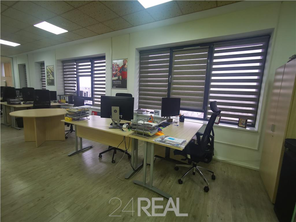 Spatiu birouri - 120 Mp -  vedere Parc Carol