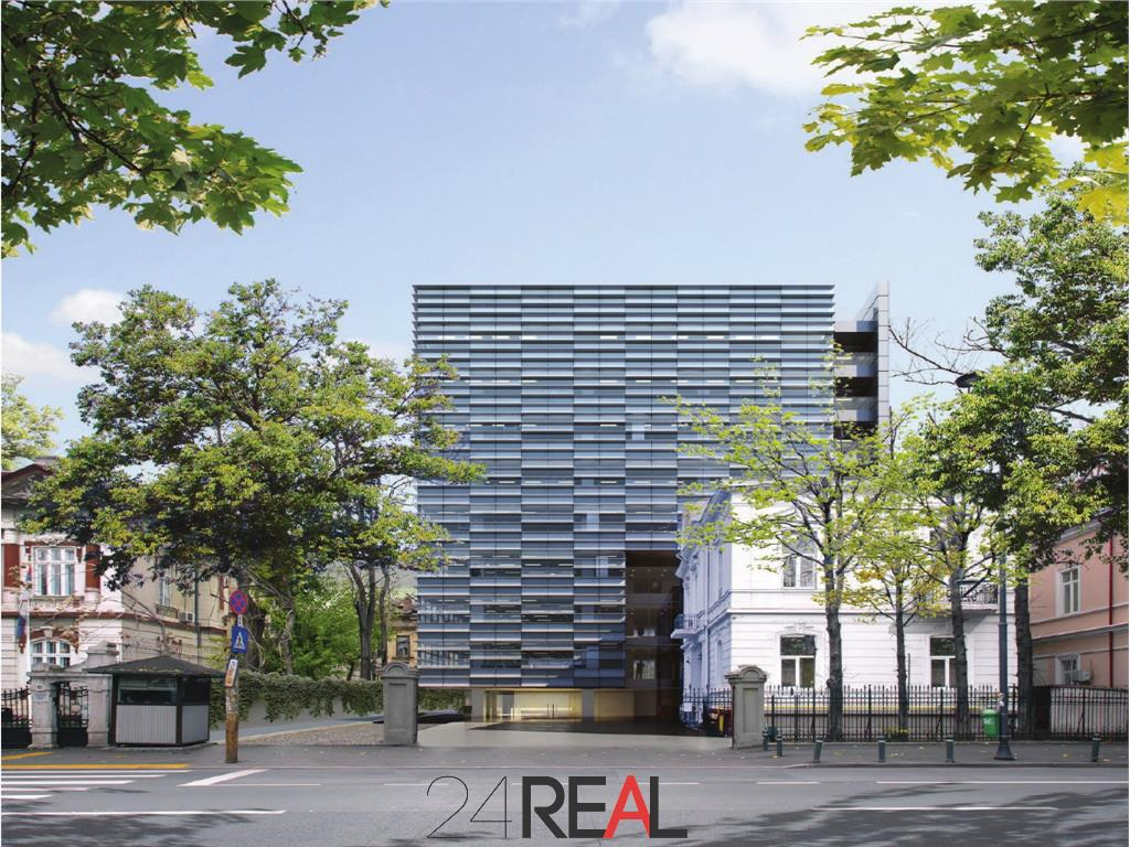 New Special Office Building - D'or 90 mp Parter (+ terasa), comercial