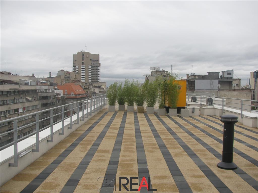 Magheru One Office Building - birouri de top + terasa - 370mp