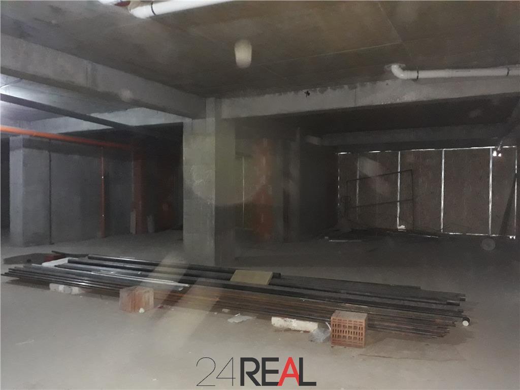 Spatiu comercial in bloc nou - zona Avrig Obor - INCHIRIAT