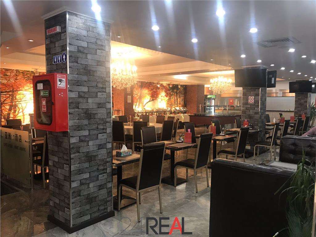 Spatiu comercial S+P+1 amenajat pentru restaurant/showroom/casino
