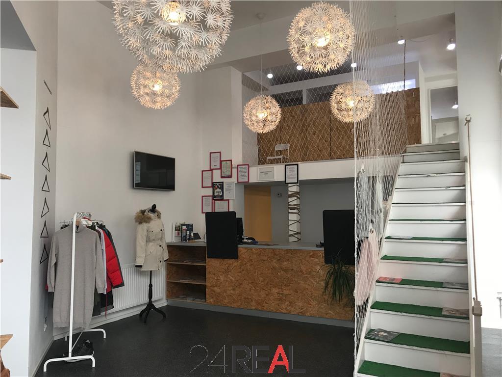 Spatiu comercial 140 mp, zona Decebal pretabil Magazin/Showroom