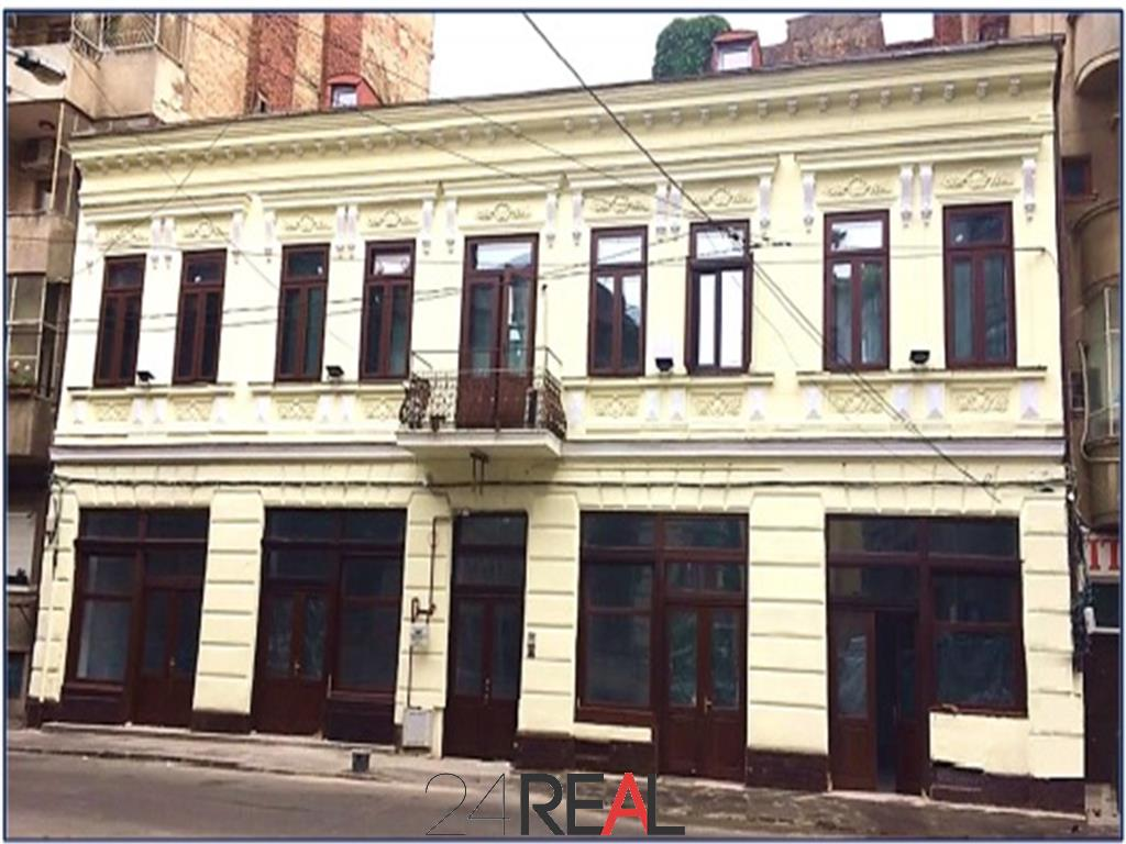 Spatii comerciale si de birouri in cladire renovata de la 5 E/mp