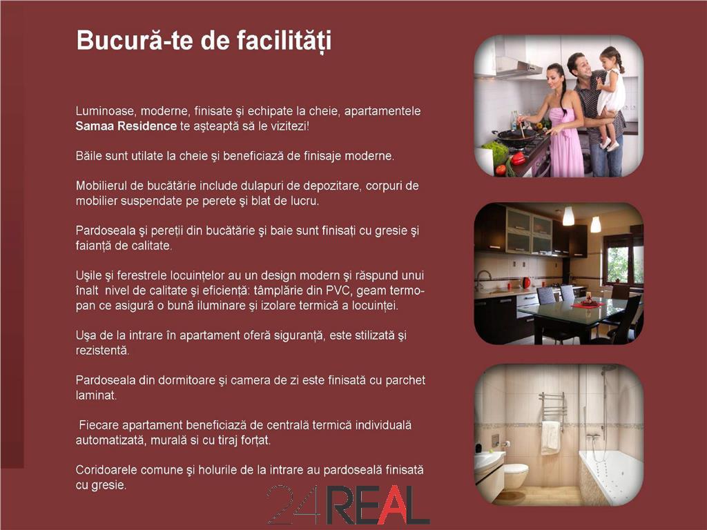 Apartamente noi 2-3 camere - preturi intre 60500 si 88500 Euro