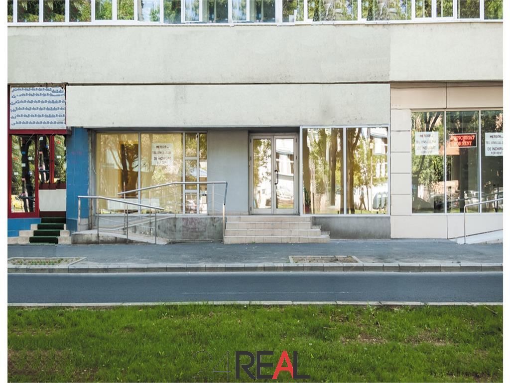 Spatiu comercial stradal Titulescu 158 mp