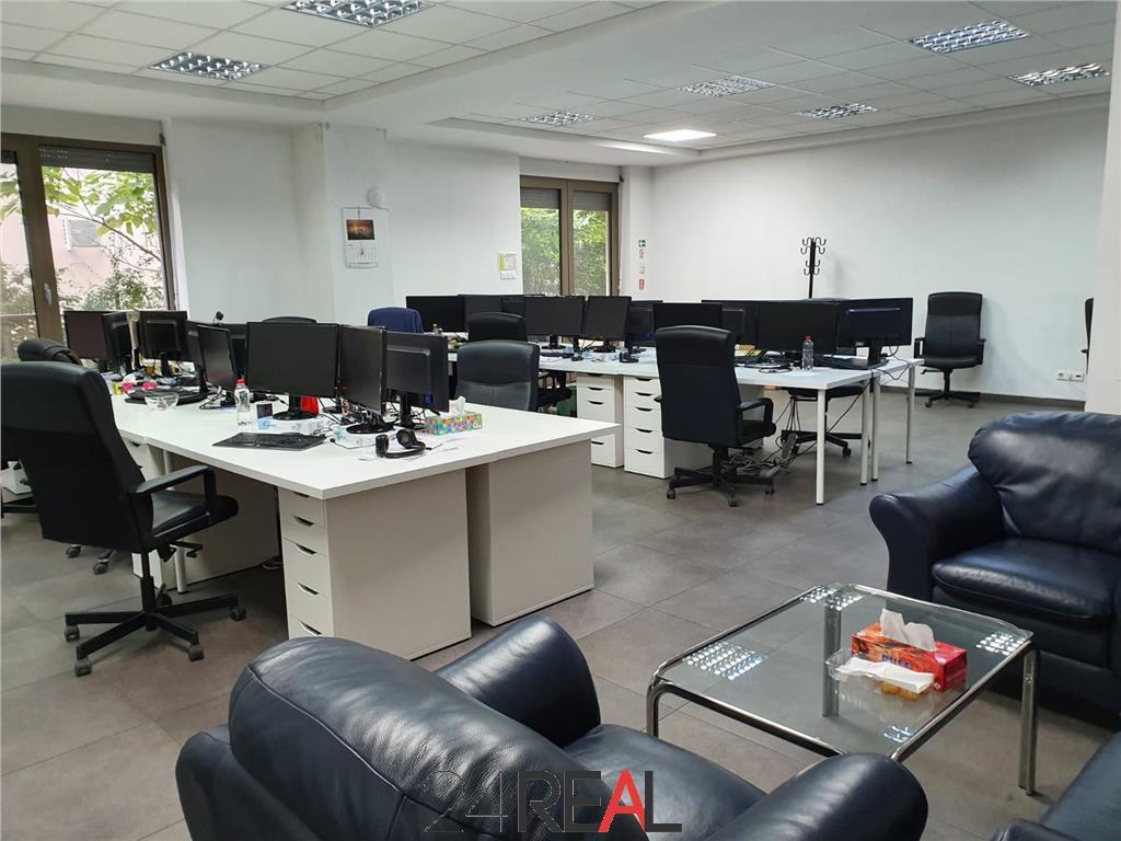 Inchiriere spatiu pentru birouri la parter - 140 mp