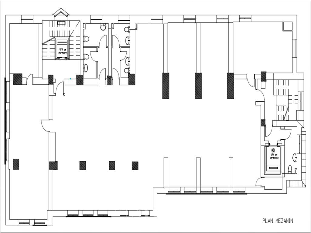 Spatii pentru birouri in zona ultracentrala - de la 150 mp