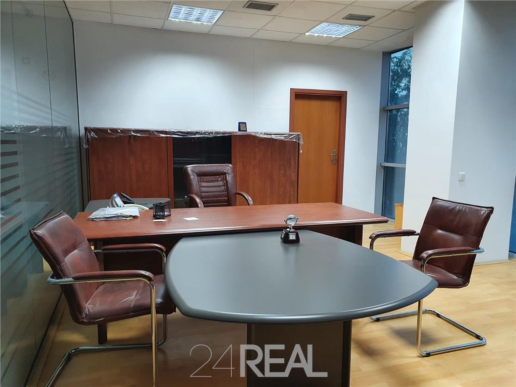 Spatii de birouri mobilate si utilate, de la 600 mp/etaj