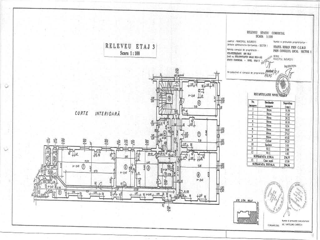 Spatiu Birouri - Ultra central - Palatul Telefoanelor - Novotel