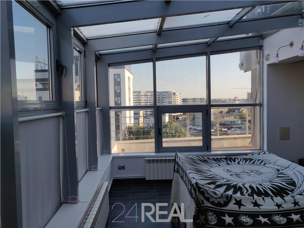 Penthouse de vanzare - 138 mp utili + terasa - total 255 mp