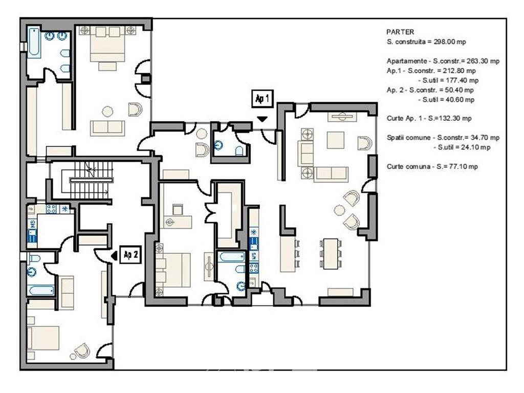 Spatiu comercial - zona Exclusivista - pretabil Clinica / Showroom