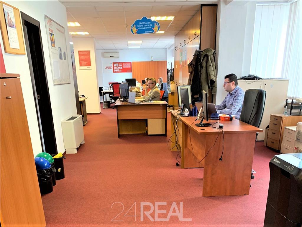 Spatiu de birou de vanzare 256 mp util + terase