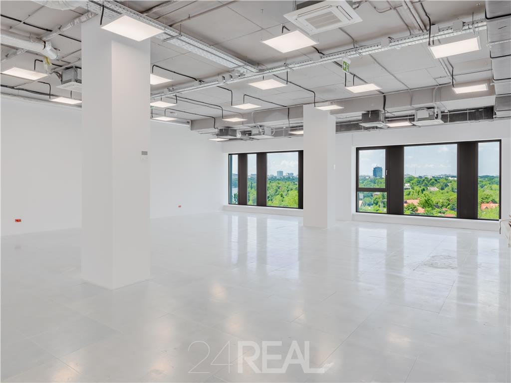 Vanzare etaj in cladire de birouri Barbu Vacarescu