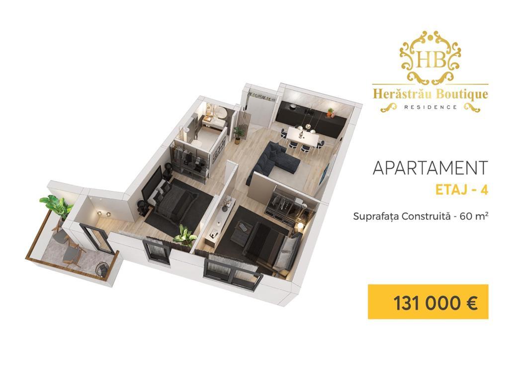 Apartamente de 2 si 3 camere la 400 m de Parcul Herastrau