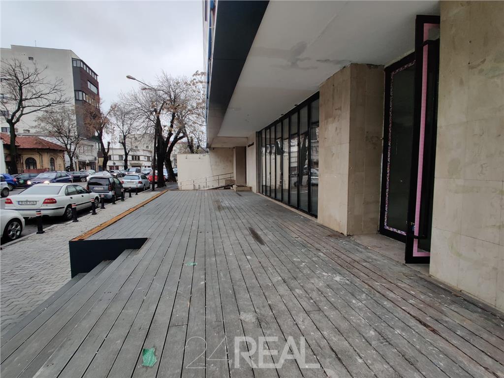 Spatiu comercial pe Calea Floreasca 258 mp + terasa 328 mp