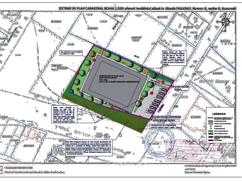 Proiect rezidential investitie - teren 2000 mp - PUZ aprobat