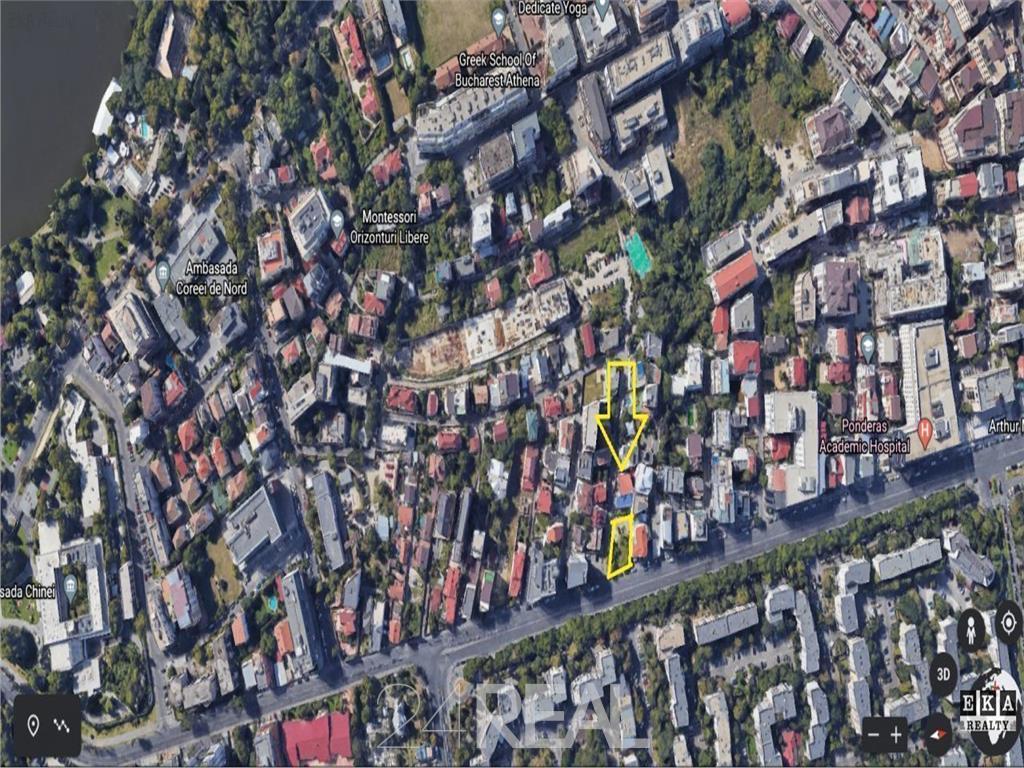 Teren de vanzare stradal Caramfil - dubla deschidere