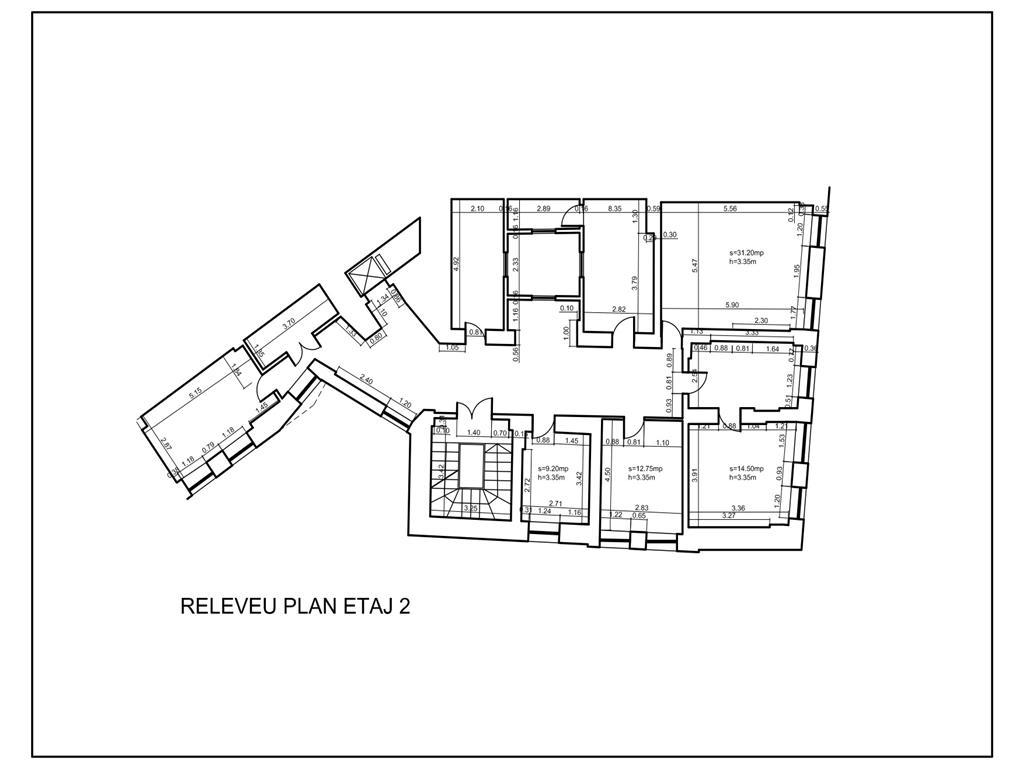 Spatii pentru birouri in vila - 206 mp