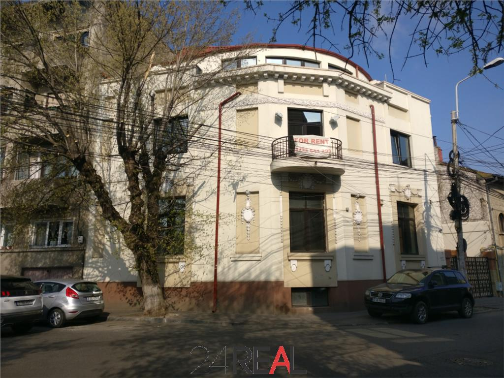 Inchiriere birouri in vila, demisol 120 mp si Et.2 + M 200 mp
