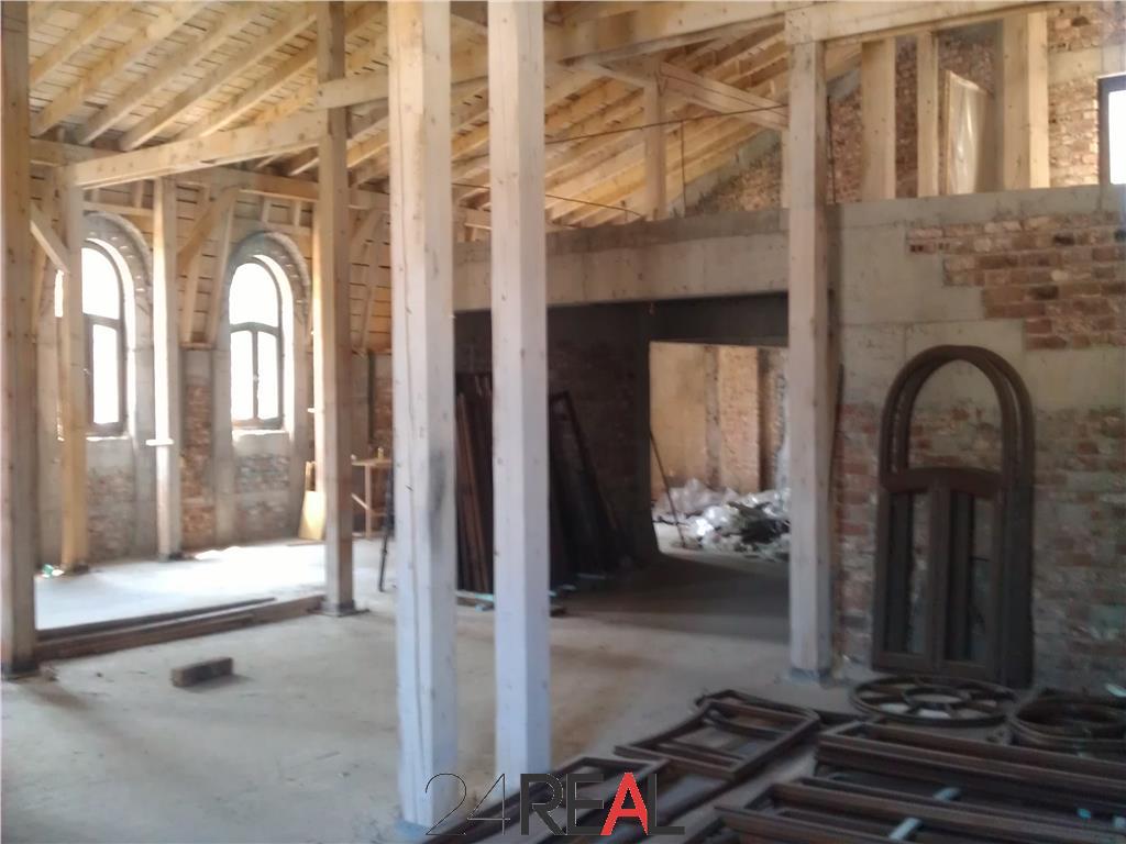 Vila interbelica - in curs de renovare