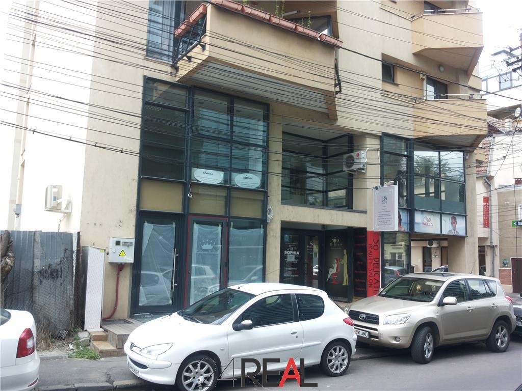 Inchiriere spatiu la demisol ideal clinica, showroom - Piata Floreasca