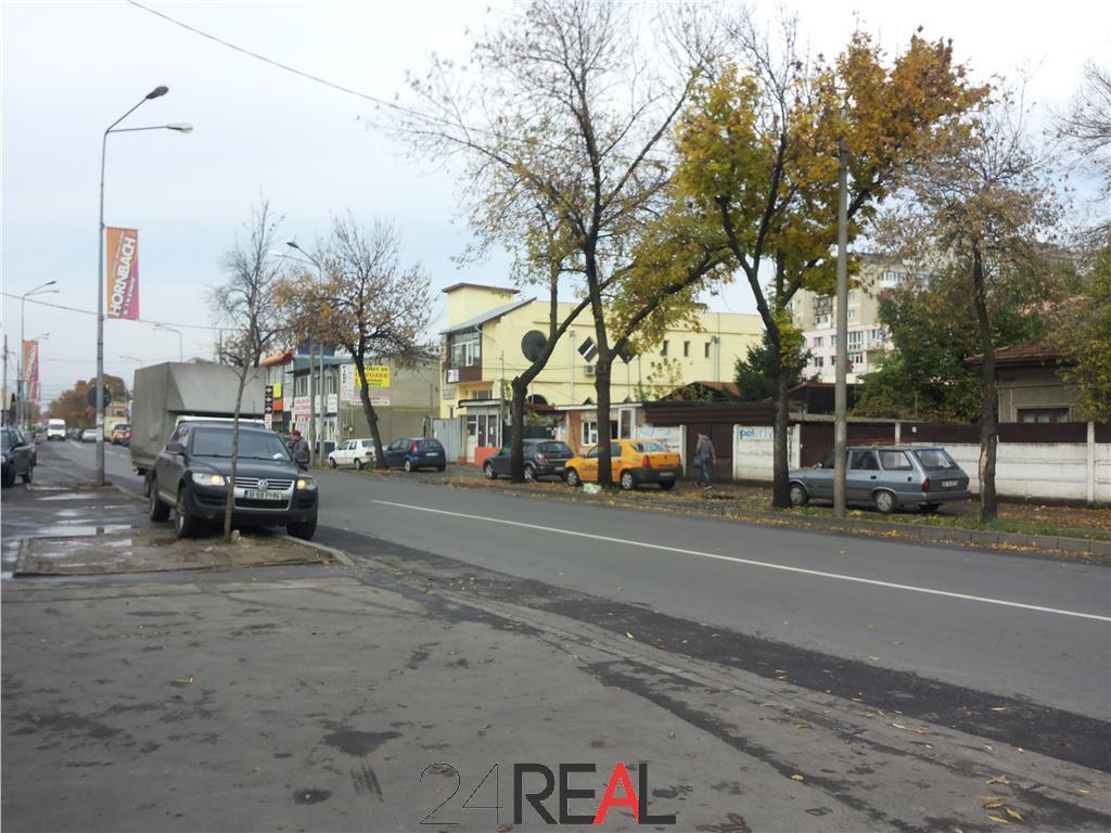 Inchiriere spatiu stradal demisol+parter - 250mp