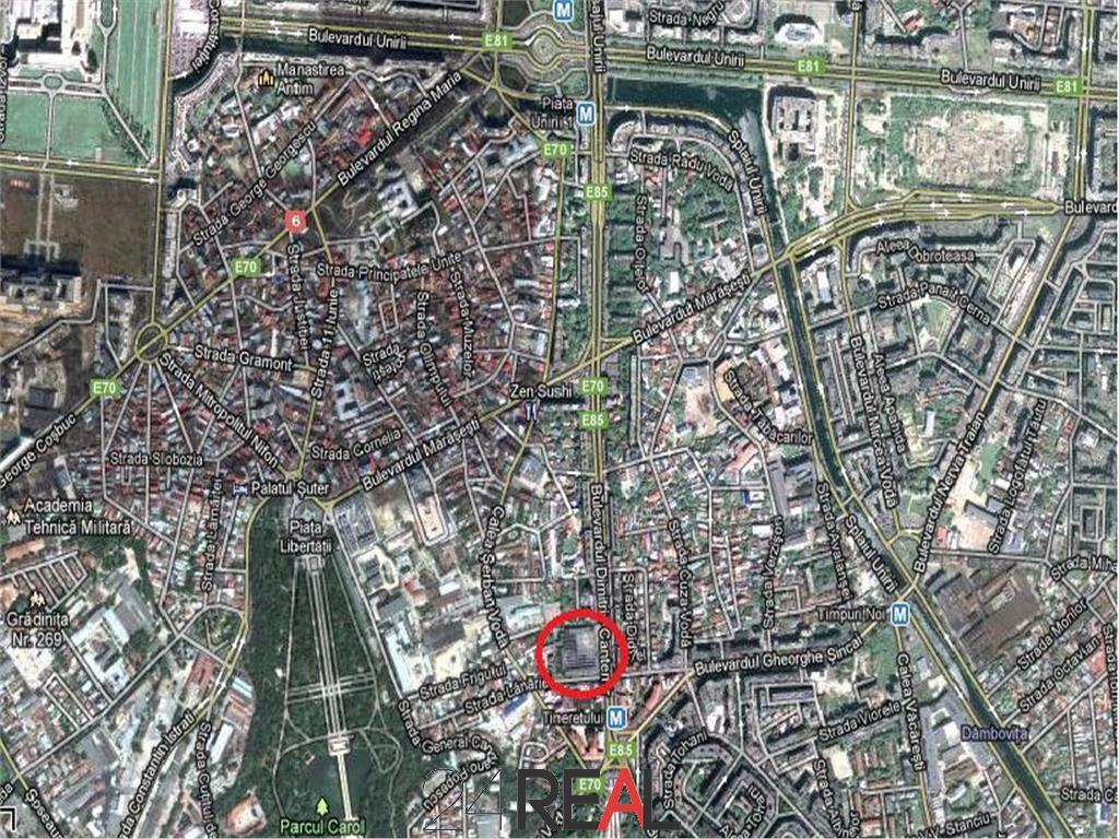 Inchiriere spatii comerciale in zona cu vad - minim 64 mp - de la 18 E