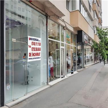 Spatiu comercial stradal Calea Victoriei 42 mp