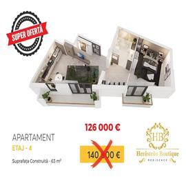 Super Oferta ! Apartament 2 camere la 200 m de Parcul Herastrau